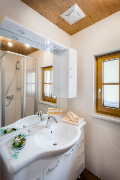 Apartment Glockeblume Badezimmer