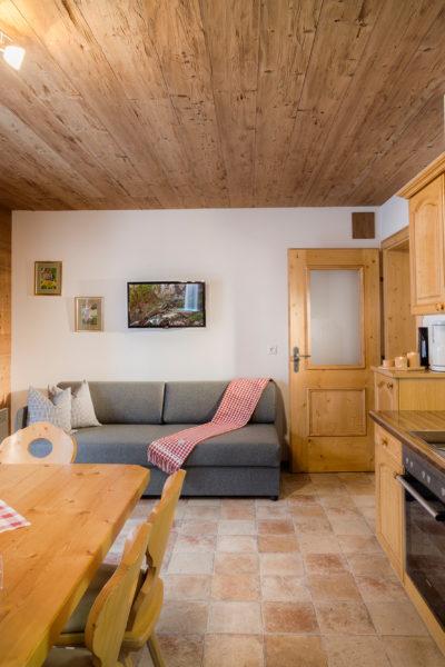 Apartment Schneerose Küche